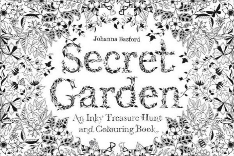 Secret Garden Coloring Book Outsells Harper Lee As Adults Seek Digital Detox