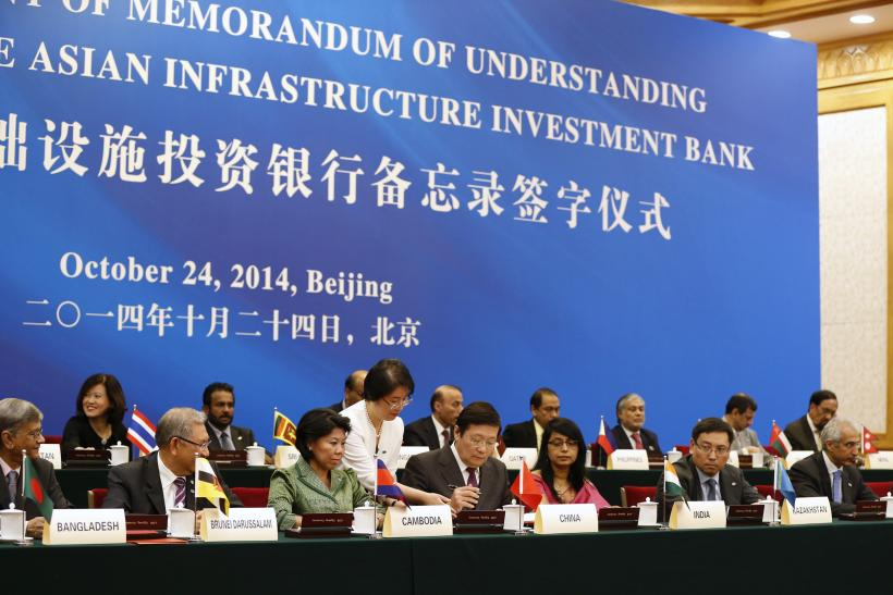 investment infrastructure Asian bank