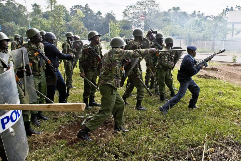Kenyan security forces