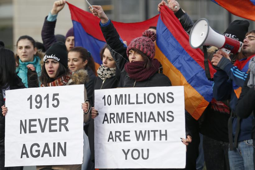 Armenian genocide protest