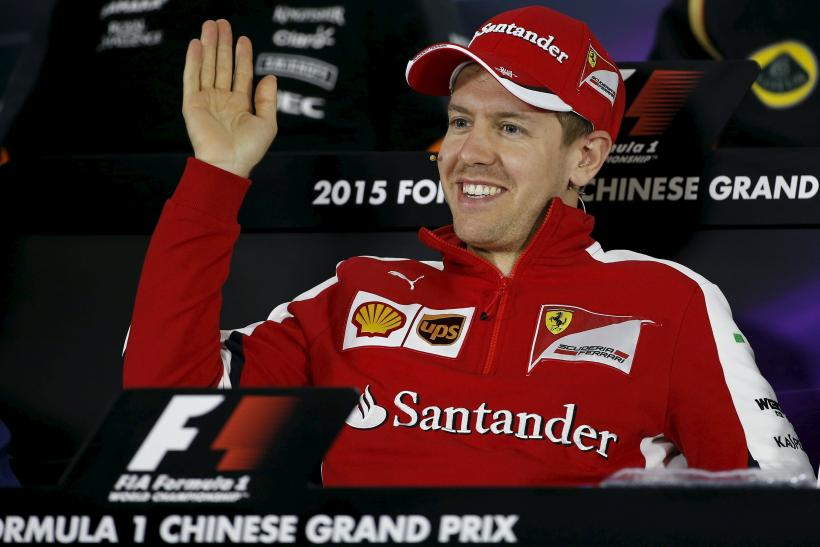 F1 China 2015: Live Stream Info, Times And TV Channel For Chinese