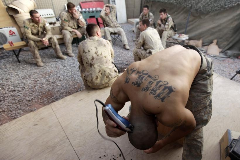 Us Army Tattoo Policy 2015 Military Relaxes Rules And Regulations