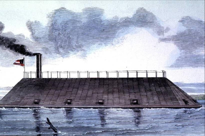 Historical image of the CSS Georgia