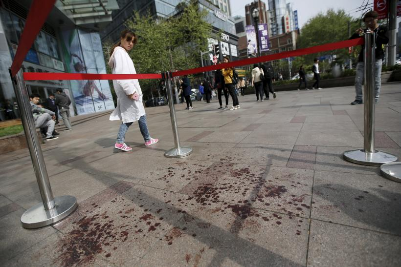 Shanghai knife attack