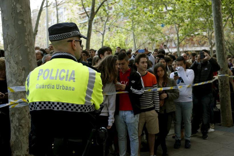 School shooting in Barcelona, Spain