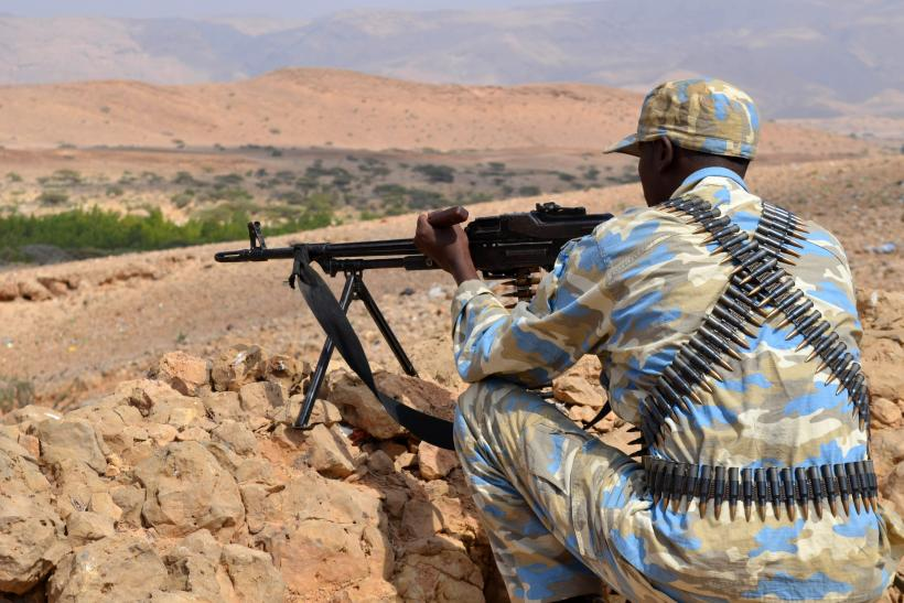 soldier from Somalia's Puntland