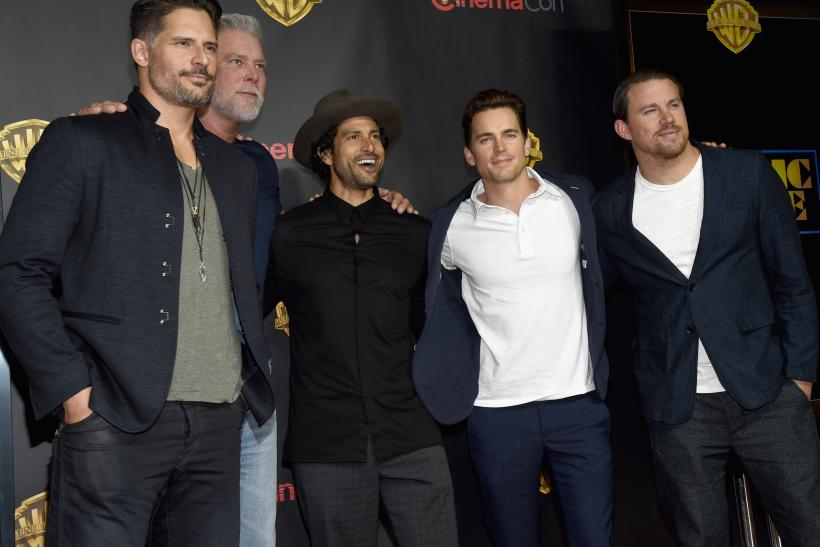 """Magic Mike XXL"" cast"