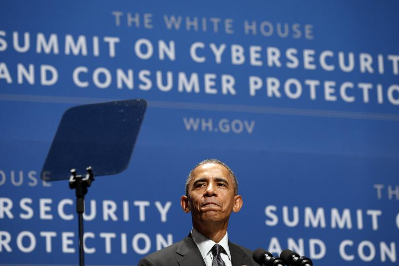 President Obama at cybersecurity speech