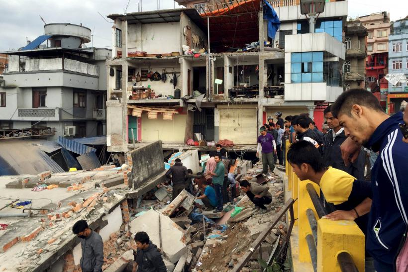 Nepal Earthquake A, April 25, 2015