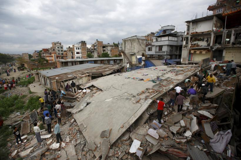 Nepal Earthquake B, April 25, 2015