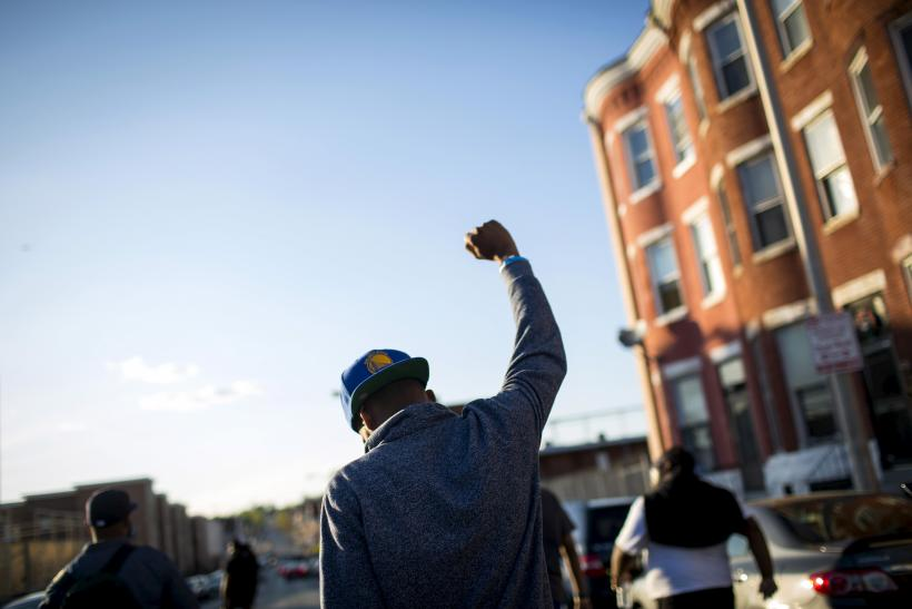 Baltimore Protester