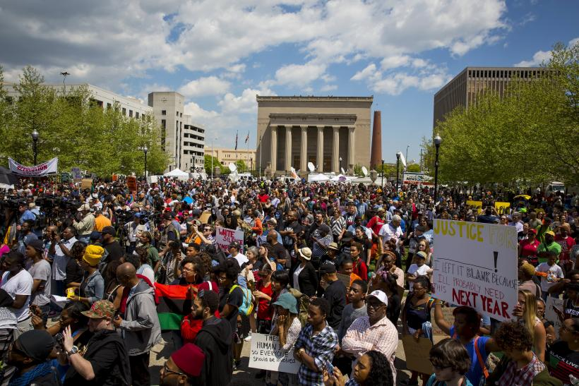 Baltimore rally