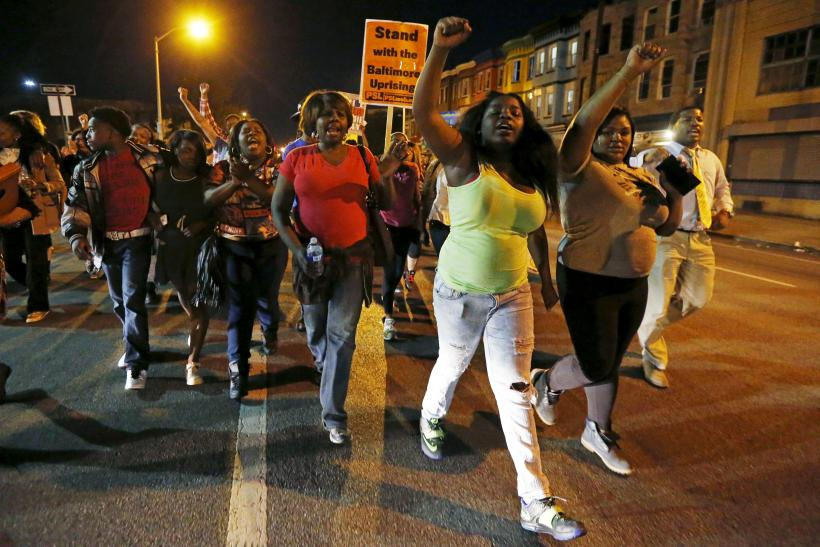 Baltimore Curfew Lifted