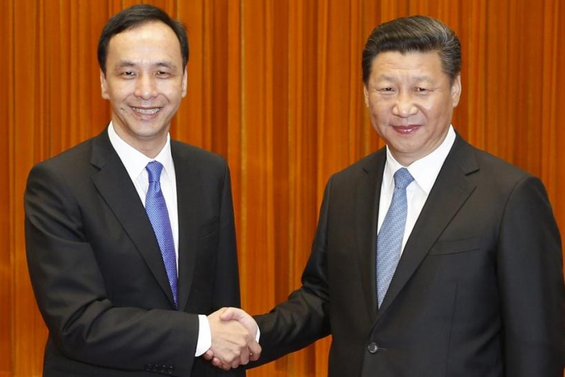Eric Chu and Xi Jinping