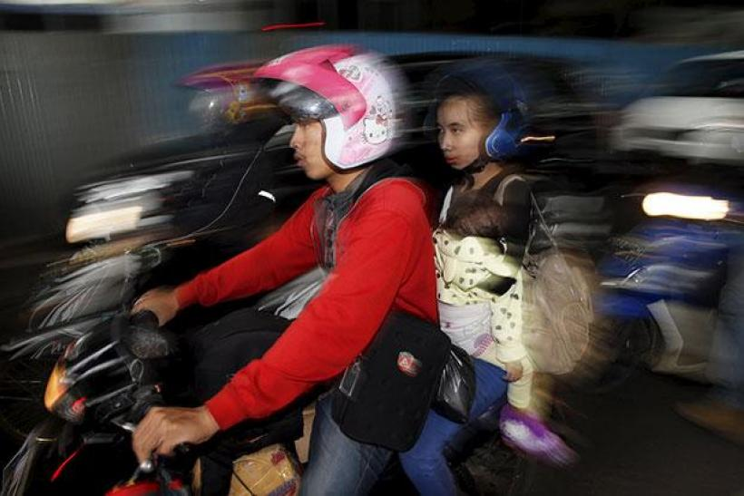 Motorbike in Indonesia