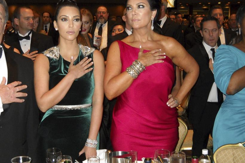Kris Jenner and daughter Kim Kardashian