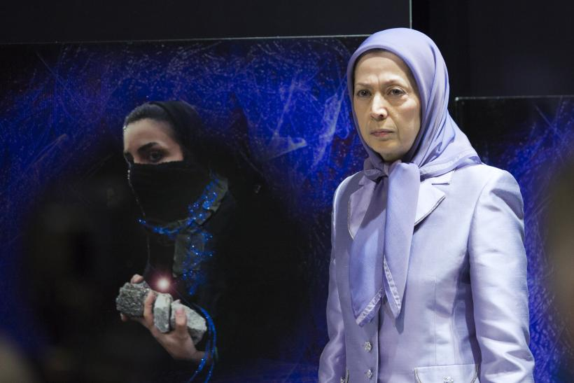 Maryam Rajavi, March 7, 2015