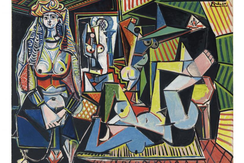 PICASSO FEMMES D'ALGER -¬ 2015 Estate of Pablo Picasso Artists Rights Society (ARS), New York