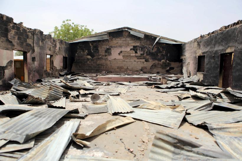 Nigerian church burned by Boko Haram