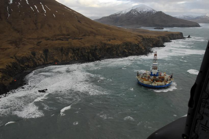 Shell Arctic Oil Rig