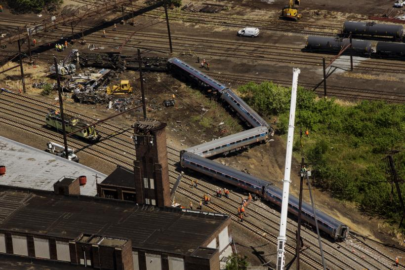 Philadelphia amtrak crash