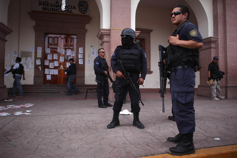 mexico police in state of Michoacan