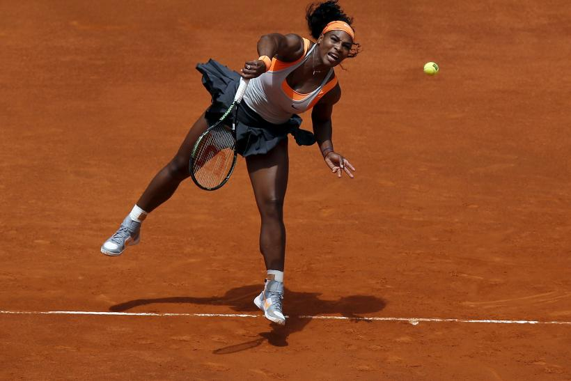 Serena Williams French 2015
