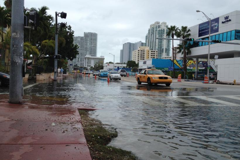 Sea Level Rise Miami