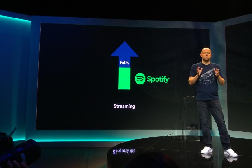 Spotify Launch Daniel Ek