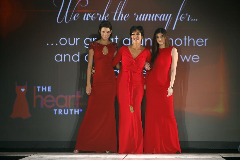 Kris Jenner and her daughters