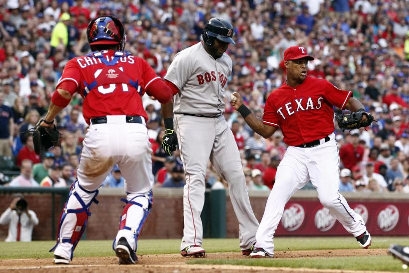 Beltre vs. Red Sox
