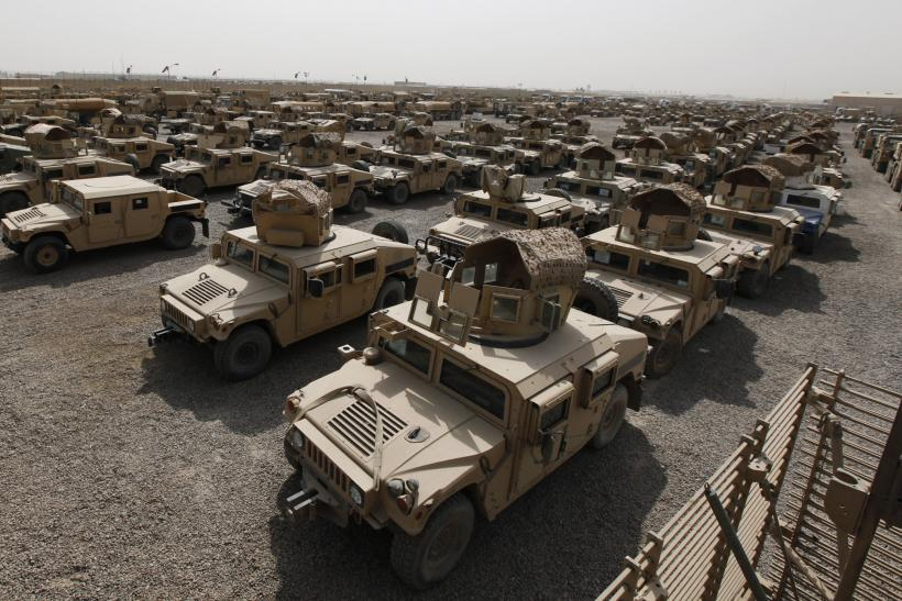 Humvees in Iraq