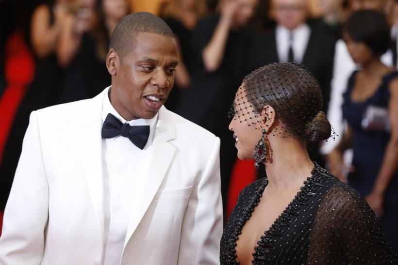 [8:56] Jay Z and Beyonce Knowles arrive at the Metropolitan Museum of Art Costume Institute Gala