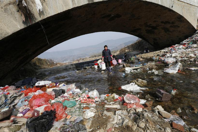 China's polluted waters