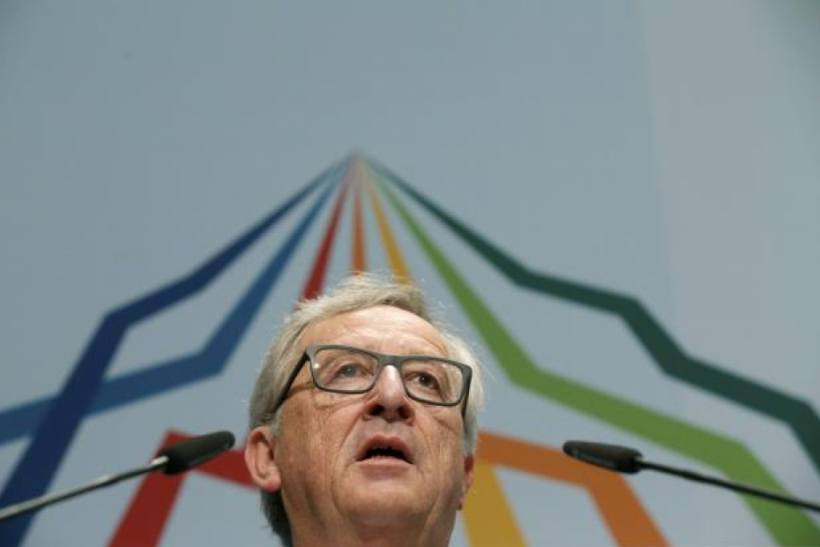 European Commission President Jean-Claude Juncker, June 7, 2015