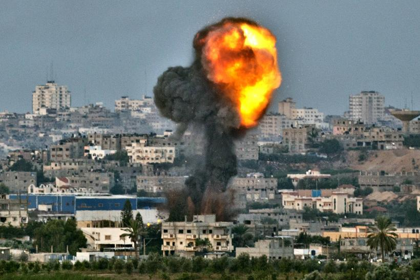 Israel Air Strike Gaza