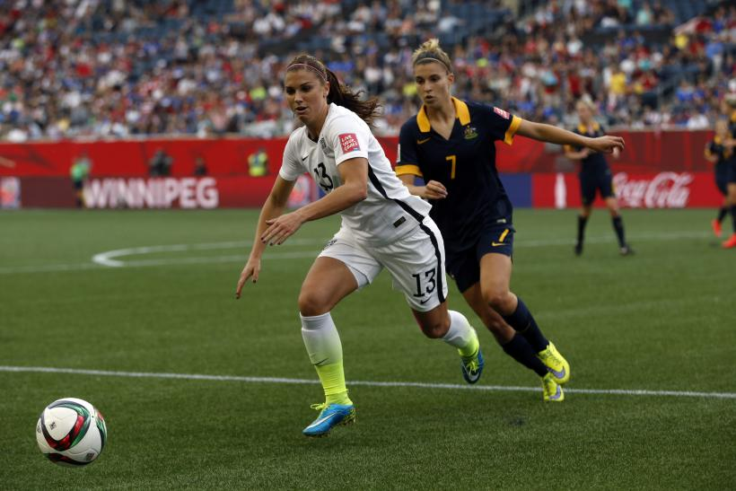 Alex Morgan Hope Solo USA Womens Soccer Brightest Stars At World Cup 2015
