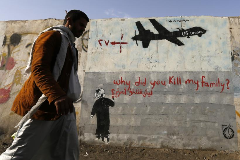 Drone Strike Graffiti_Yemen