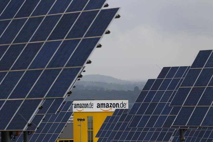 Amazon warehouses are going green
