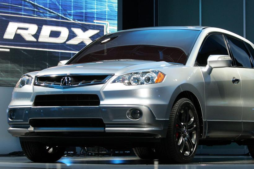 Acura Recalls MDX And RLX SUV Models Due To Automatic Braking - Acura rdx brakes