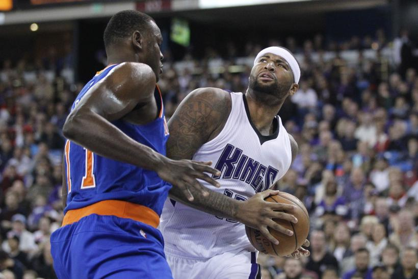 DeMarcus Cousins Kings 2015