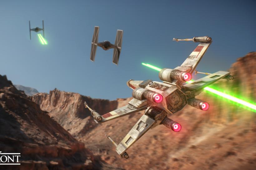 Star Wars Battlefront EA E3 press conference