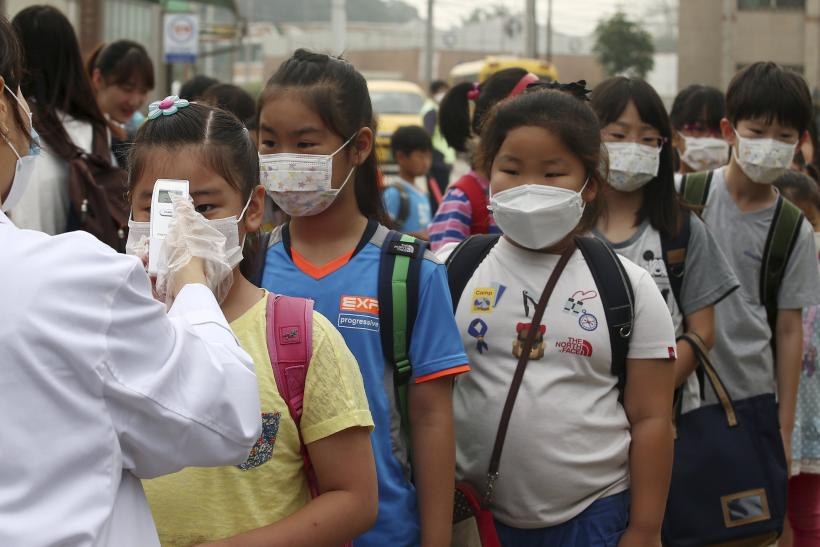 South Korea MERS check-up