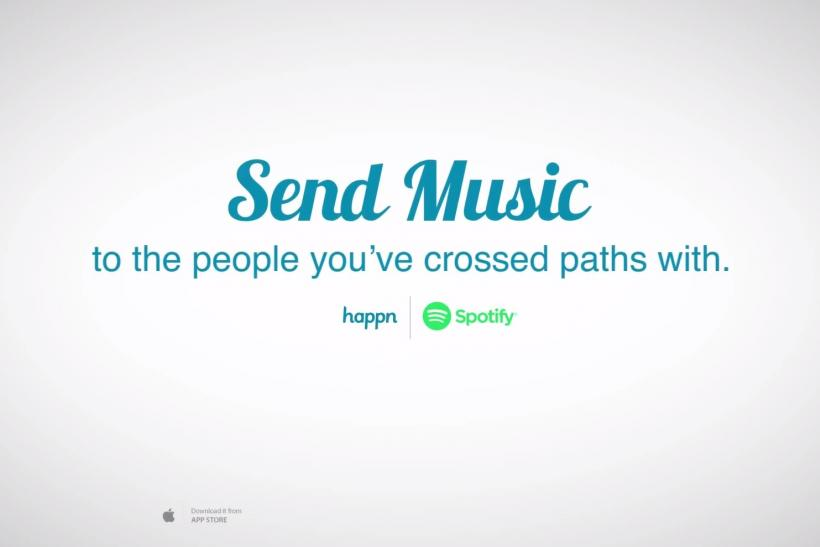 Dating App Happn Hooks Up With Spotify For Musical Matchmaking