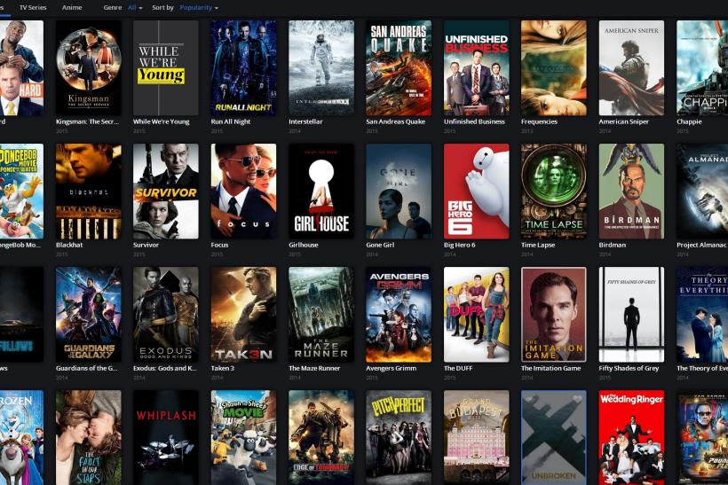 Popcorn Time screen June 18