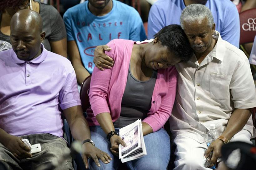 Charleston shooting victims' loved ones