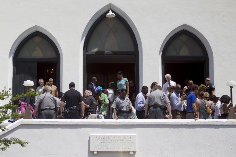 Emanuel AME Church, Charleston, South Carolina, June 21, 2015