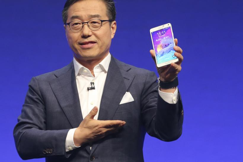 Galaxy Note 4 phablet