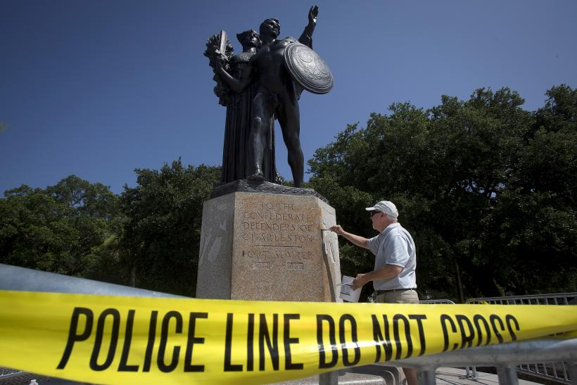 Confederate Statue Vandalized