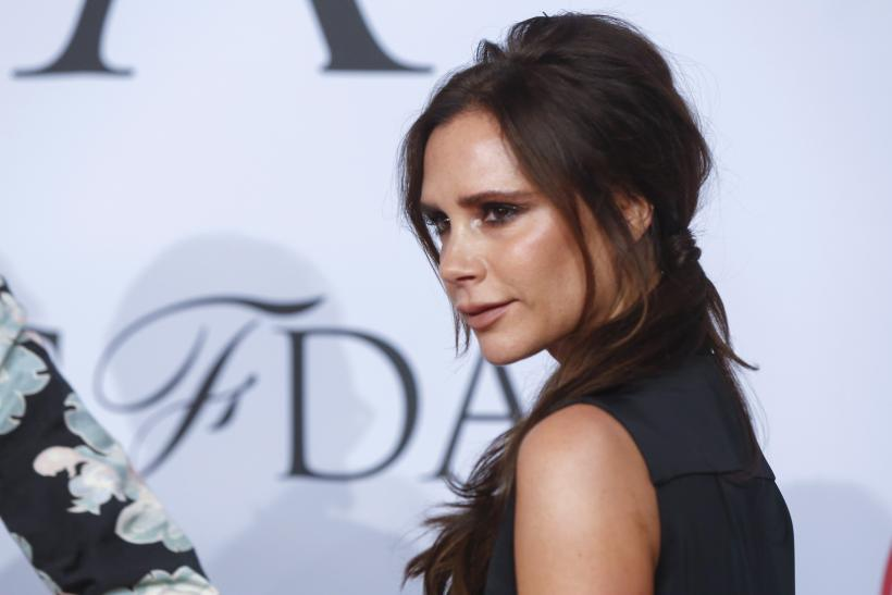 Designer Victoria Beckham bonds with daughter